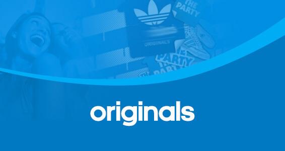 банер adidas original
